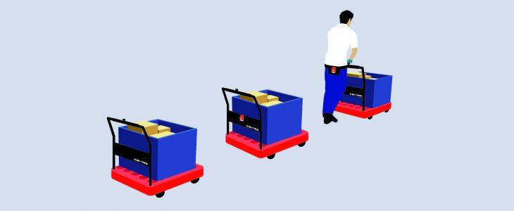 物流支援ロボット「キャリロ」のデザイン