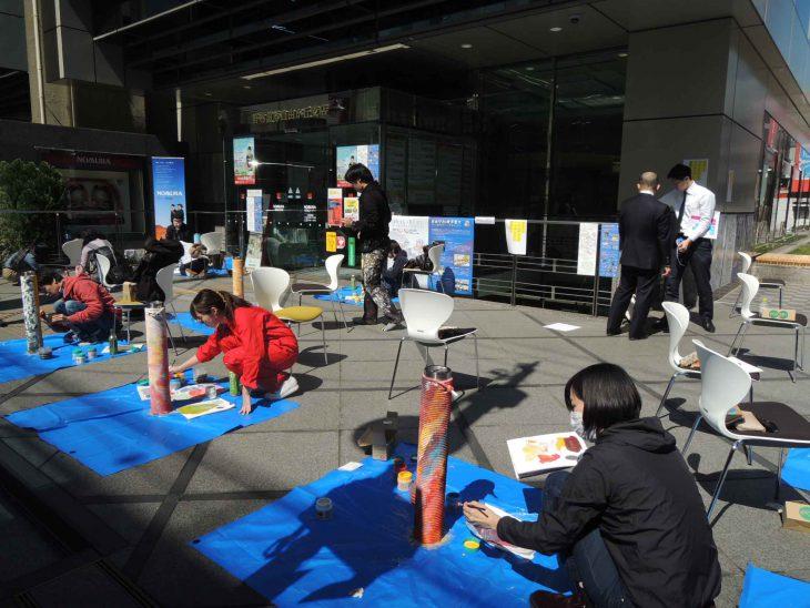 2018年3月〜5月に開催された「自由が丘×東京芸大 アート&デザイン・プロジェクト」